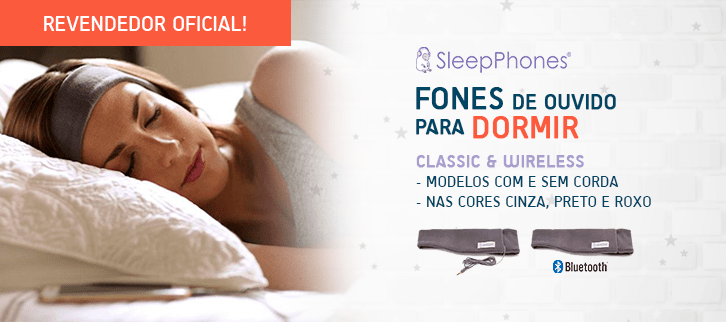 Fones de Ouvido para Dormir - SleepPhones